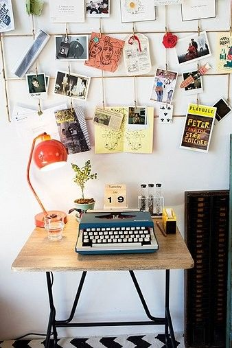 typewriter workspace