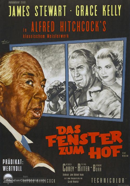 rear window 1954 german movie poster