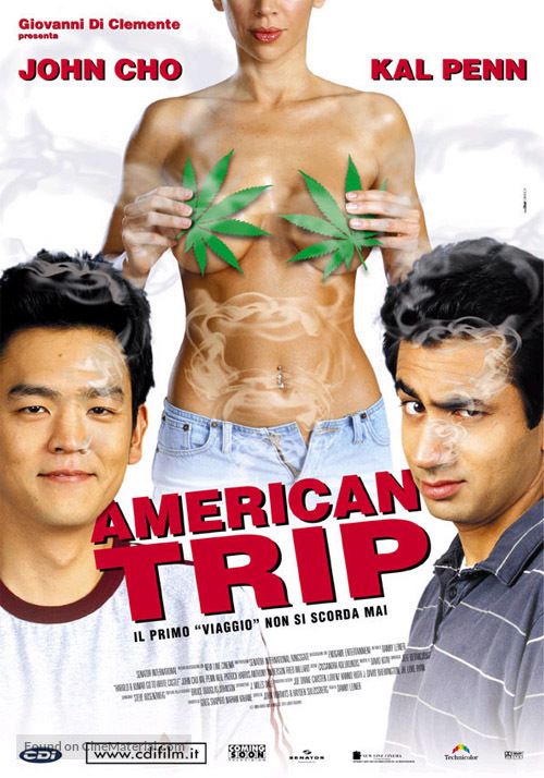 Harold & Kumar Go to White Castle Italian movie poster