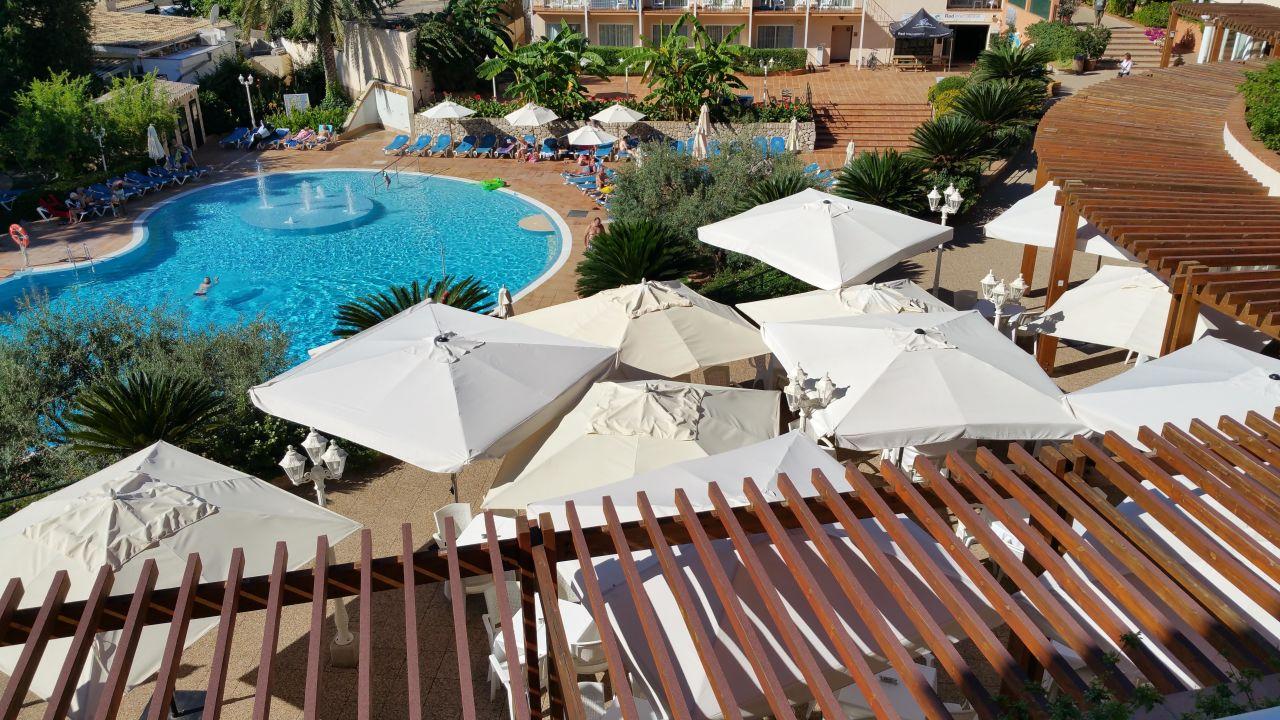 Zimmerblick 2 Stock Valentin Park Club Hotel