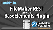 Free FileMaker Example Files | FileMaker Tutorial - FileMaker REST using BaseElements Plugin | FM 12+ | 7-26-16