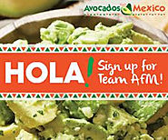 """Avocados from Mexico's """"Team AFM"""" Contest will be giving away $100 Amazon Gift"""