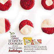 Earth Balance   Lifestyle   12 Days of Plant-Made Cookies