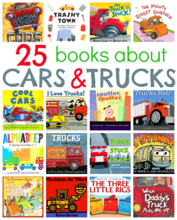 Children's Books about Cars and Trucks | A Listly List