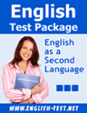 Free English Tests for ESL/EFL, TOEFL®, TOEIC®, SAT®, GRE®, GMAT®