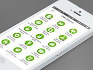 20 stunning examples of minimal mobile UI design