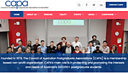 The Council of Australian Postgraduate Associations (CAPA)