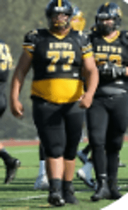 2018 NorCal Top OL | (CA) OL/DL Lonnie Turner (Bishop O' Dowd) 6-5, 360