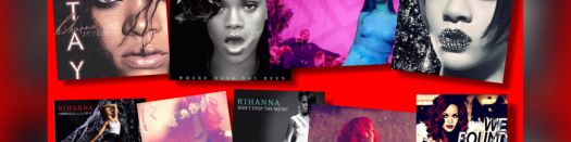 Headline for Rihanna's 30 Top Ten Hits - From Least to Greatest!