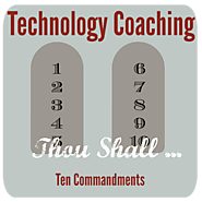 The 10 Commandments of Technology Coaching   Hot Lunch Tray