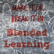 Blending your Instruction: Make it or Break it   Hot Lunch Tray