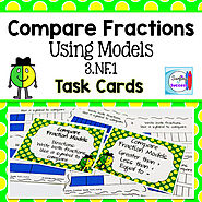 Compare Fractions Using Models by Mercedes Hutchens | TpT