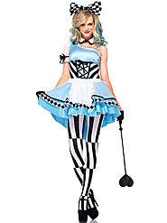 Halloween Sexy Alice In Wonderland Costume Cosplay Halloween - Milanoo.com