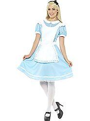 Smiffy's Women's Wonder Princess Costume, Blue, Large