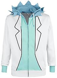 Rick - Cosplay | Rick And Morty Hooded zip | EMP