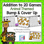 Addition to 20 Games Bump and Cover Up Animals by Mercedes Hutchens