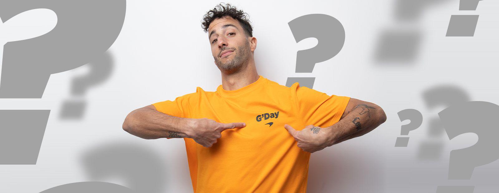 How well do you know Daniel Ricciardo?