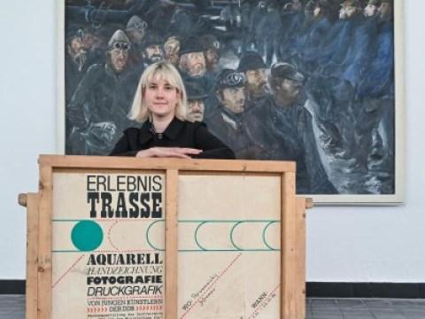 """Ausstellungen – Eisenhüttenstadt: Kunst von der """"Drushba""""-Trasse in Eisenhüttenstadt"""