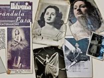 Ballerina Marta Cinta: Suchbildmit Tänzerin