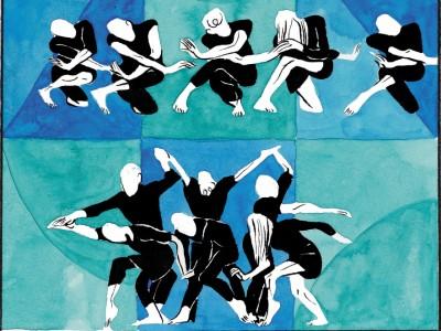 Graphic Novels zu Tanz: Fixierte Bewegung