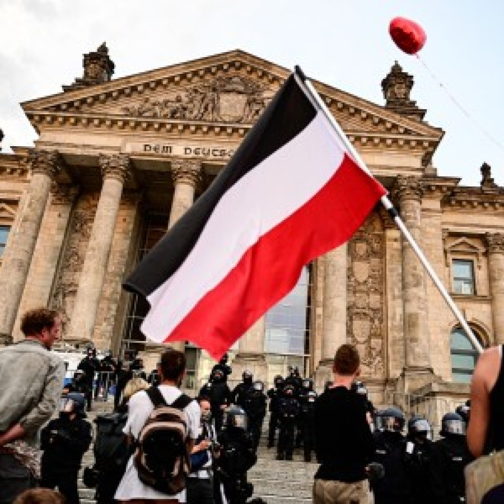 """Vom Kapitol zum Reichstag: """"Das war wie ein starker Koksrausch"""""""