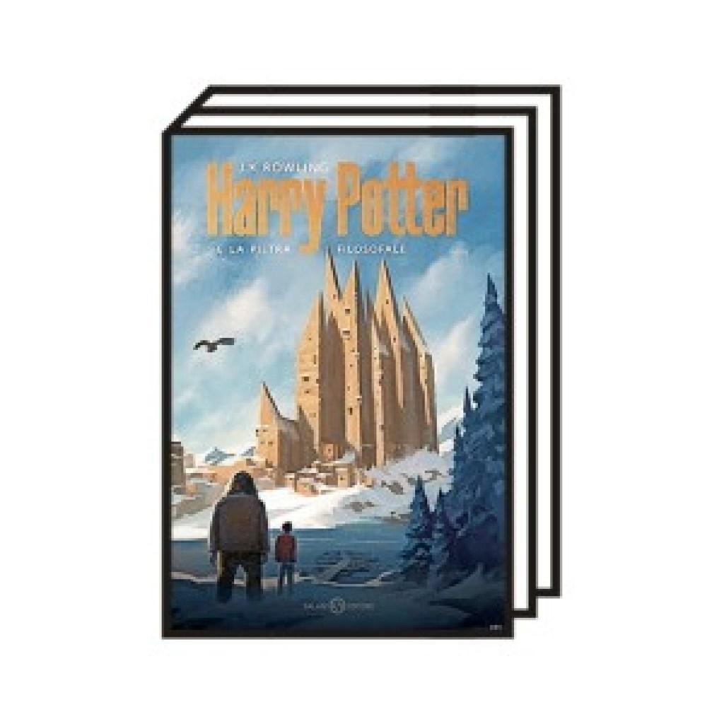 Neue Cover für Harry Potter: Es ist Magie