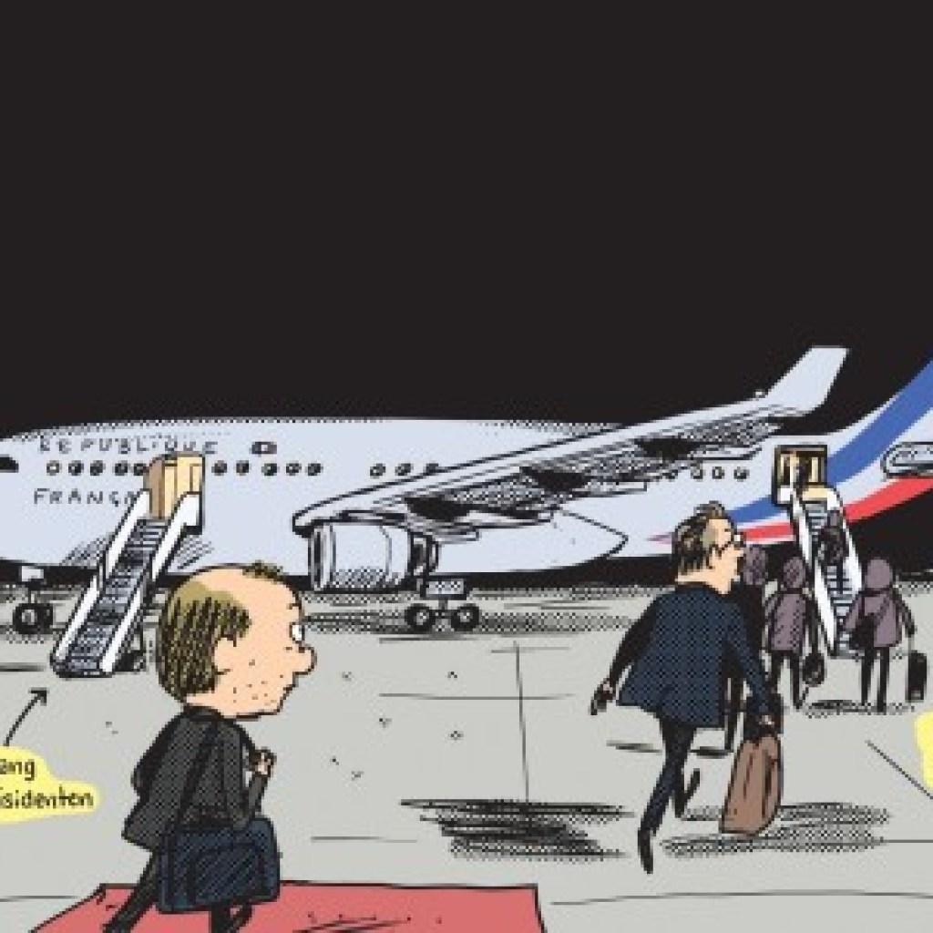 Comic über Emmanuel Macron: Auf den Spuren des Sonnenkönigs