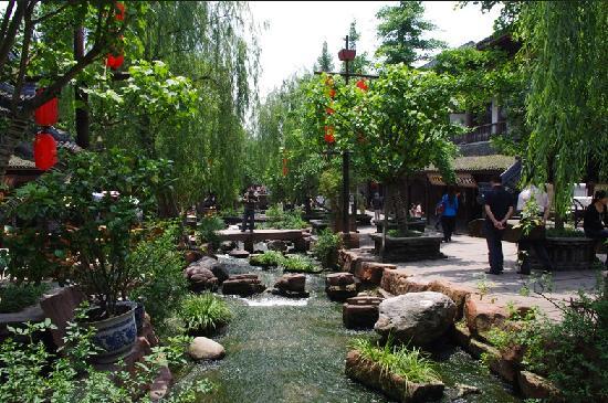 Photos of Huanglongxi Ancient Town, Shuangliu County