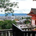 Kyoto in Background