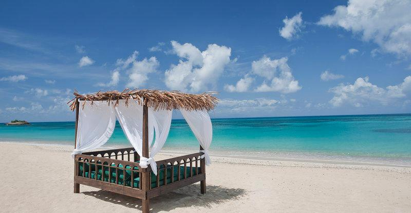 Keyonna Beach All Inclusive Hotel, tranquil cottage-style getaway on island of Antigua in Caribbean