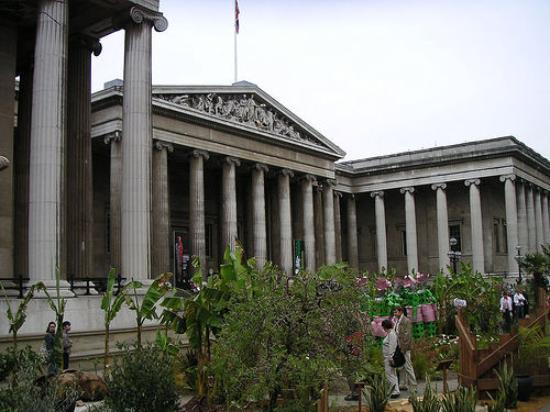 Pictures of British Museum, London