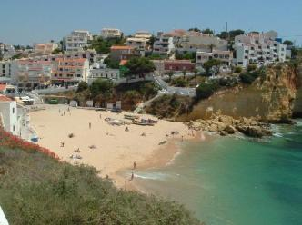 Praia de Carvoeiro, Portugal