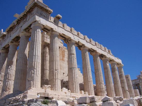 The imposing Parthenon within the Acropolis. Looming over Athens. Photo: tripadvisor