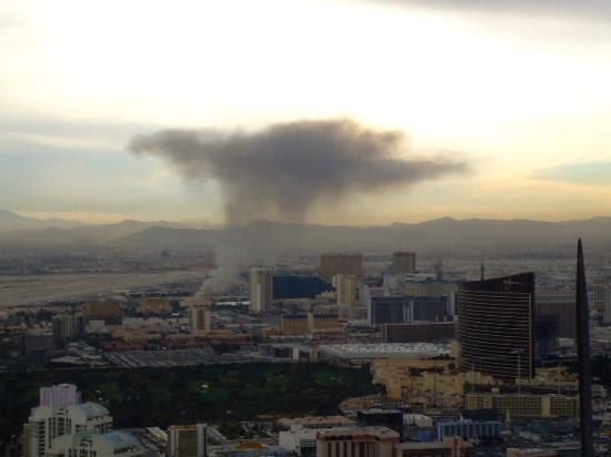 Fire Near MGM Grand In Dec 06 Picture Of Ballys Las