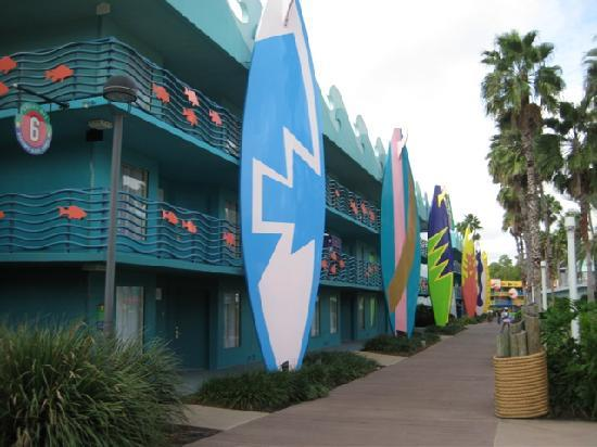 All Star Disney Resort Sports Orlando