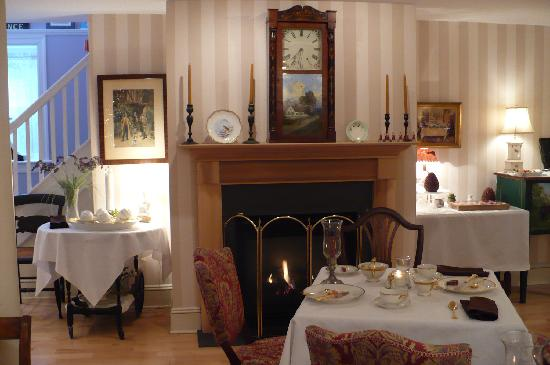 Fireplace In Dining Room Picture Of The Carriage House