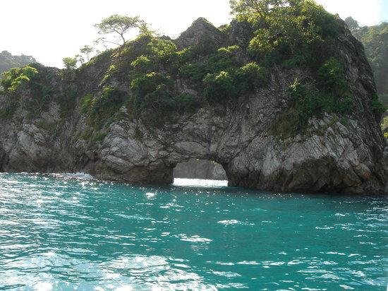 Costa Rica: Beautiful water enroute Tortuga Island 8/05