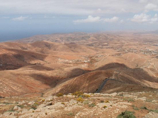 Fuerteventura, España: Island interior from Morro Velosa