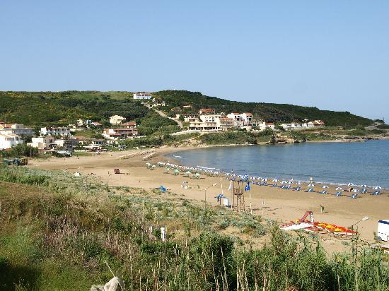 San Stefanos Beach - Picture of Athina Hotel, Corfu ...