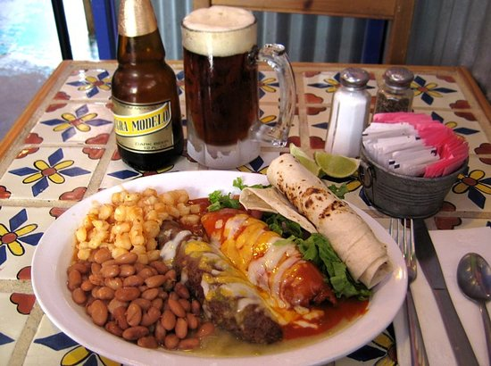 Lunch & a beer ...