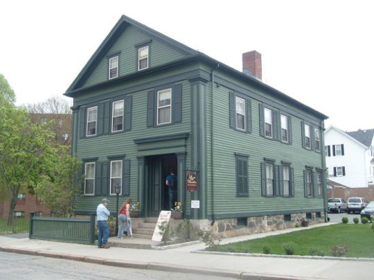 Photos of Lizzie Borden House, Fall River