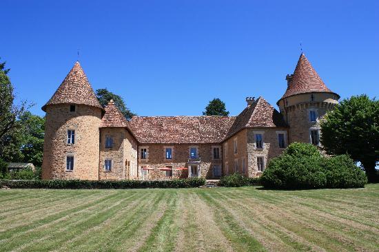 Le chateau - Picture of Domaine des Etangs, Massignac ...