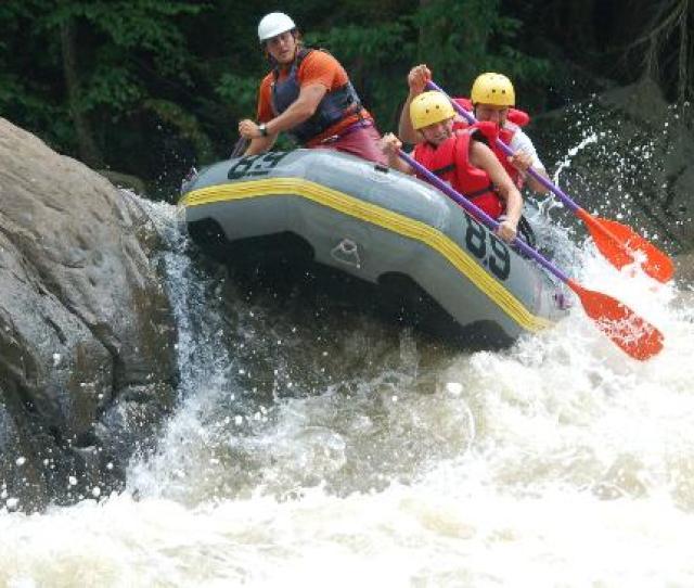 Upper Yough River Heinzerling Rapid