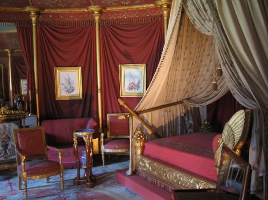 Inside Malmaison - Josephine's room - Picture of Chateau ...