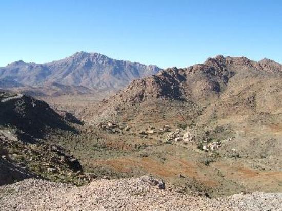 Villages 1100m up in the Atlas Mountains