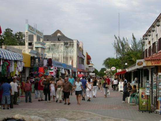 Downtown Playa Del Carmen MX Picture Of Playa Del