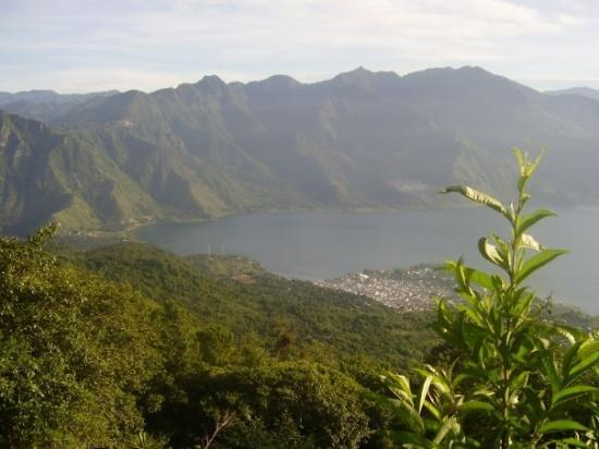 Santiago Atitlan, Guatemala: lago atitlan