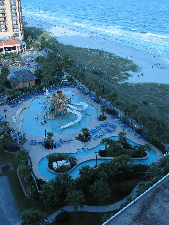 Balcony view - Picture of Embassy Suites by Hilton Myrtle ...