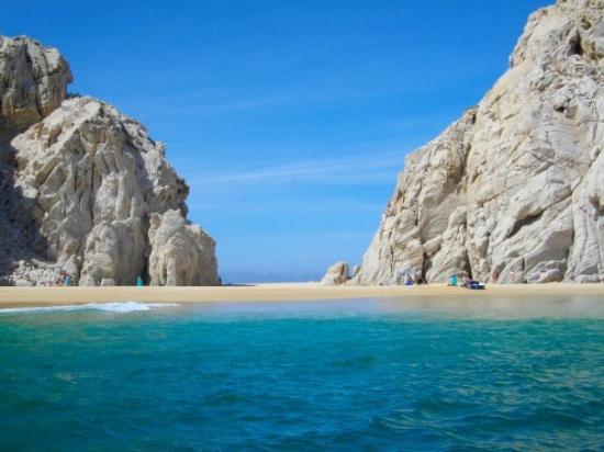 Bilder fra Playa del Amor (Lover's Beach), Cabo San Lucas