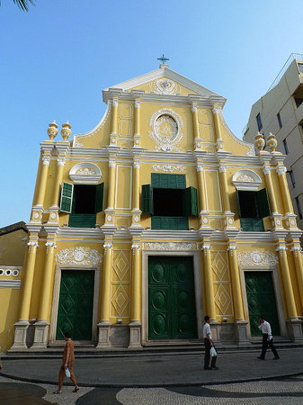 Photos of St. Domingo's Church, Macau